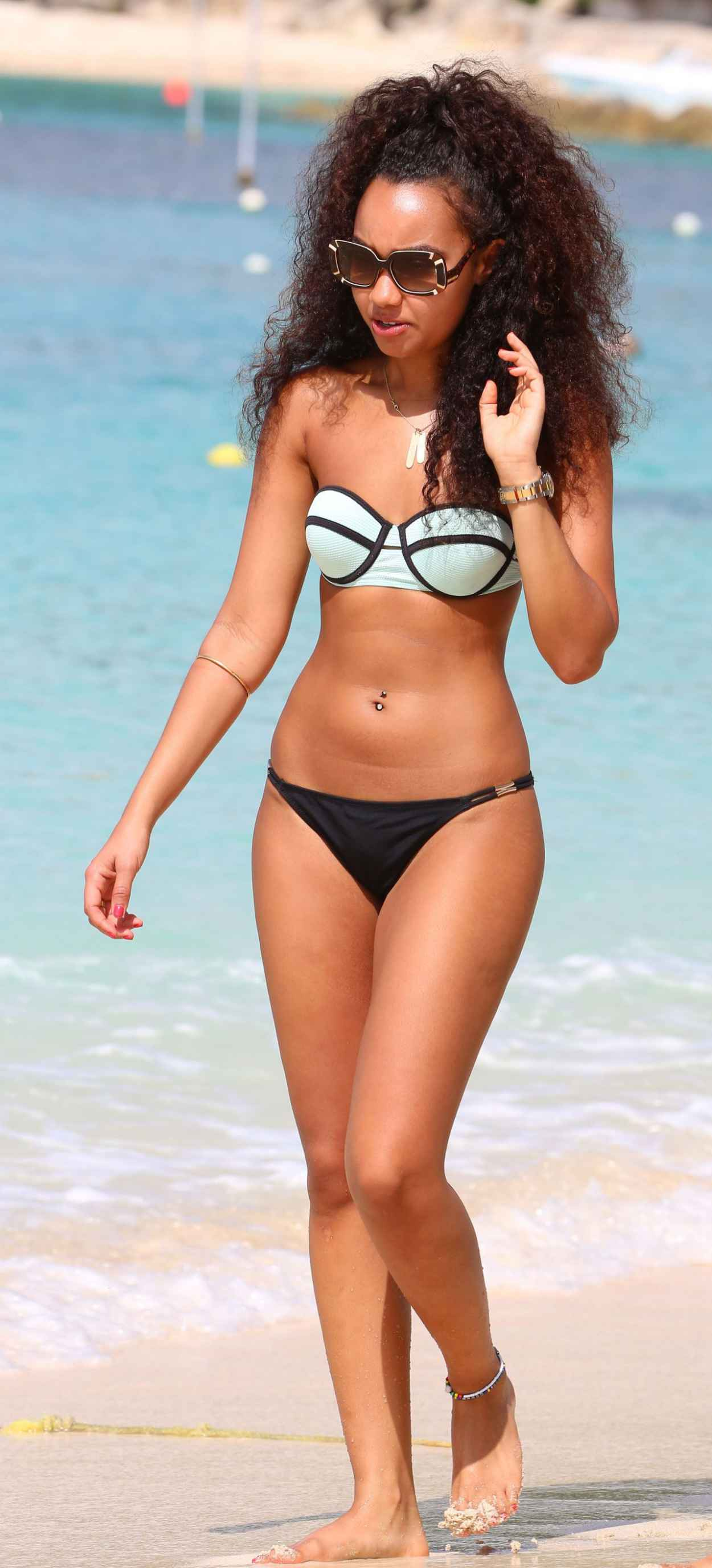 Leigh-Anne Pinnock Bikini Pictures From Barbados - December 2015-1
