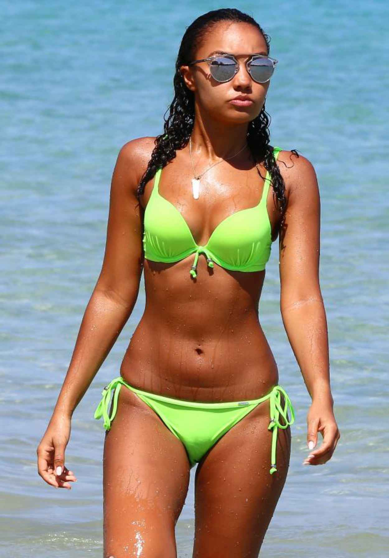 Leigh-Anne Pinnock Hot in Bikini - Jamaica 2015-1