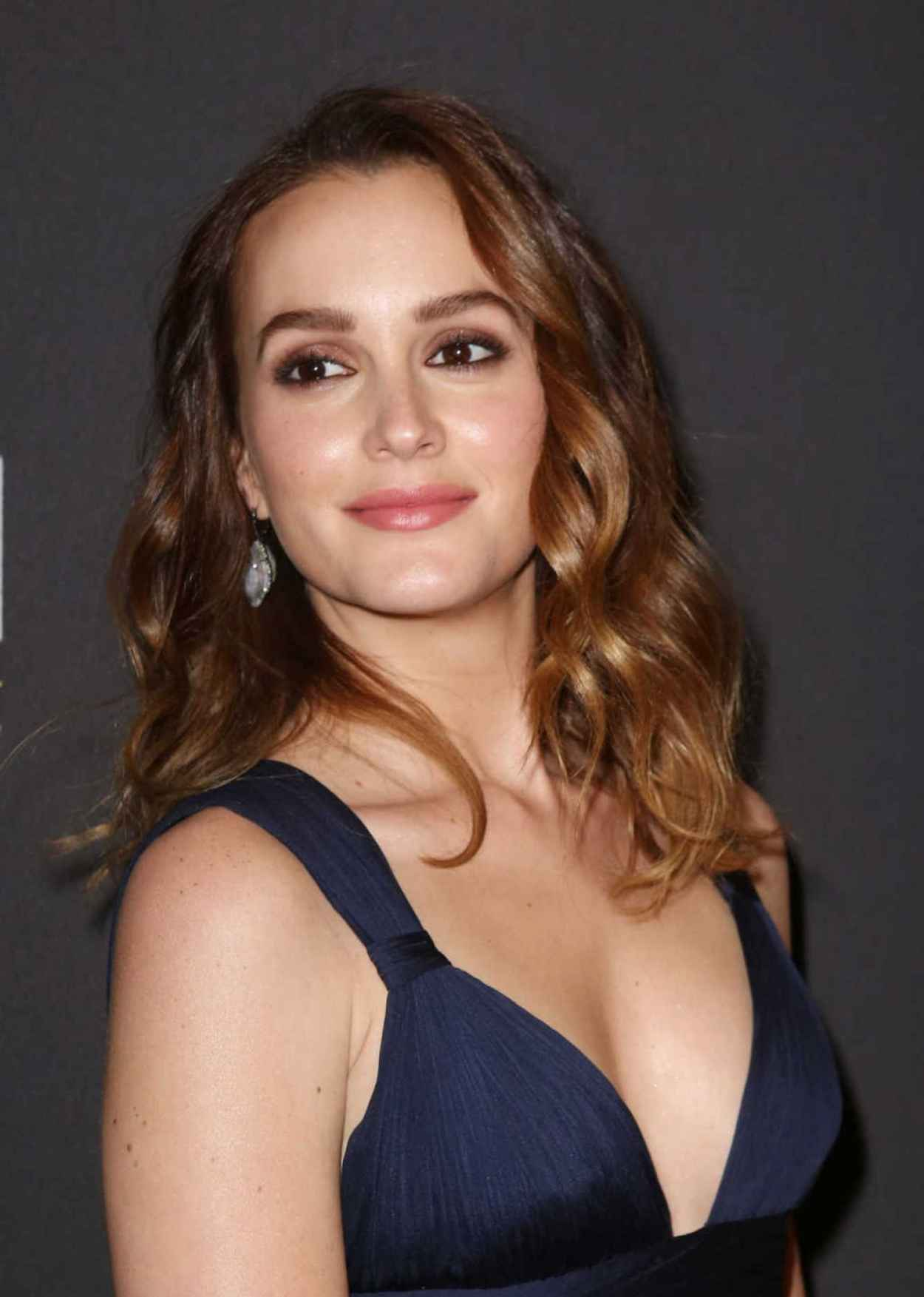Leighton Meester at Of Mice And Men Broadway Opening Night After Party in New York City-1