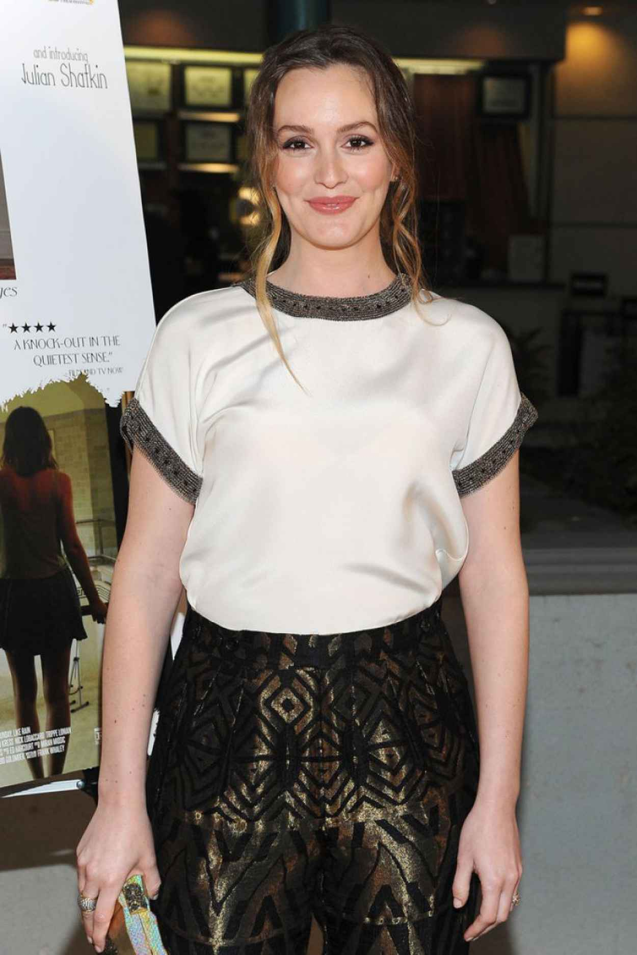 Leighton Meester - Like Sunday, Like Rain Premiere in Encino-1