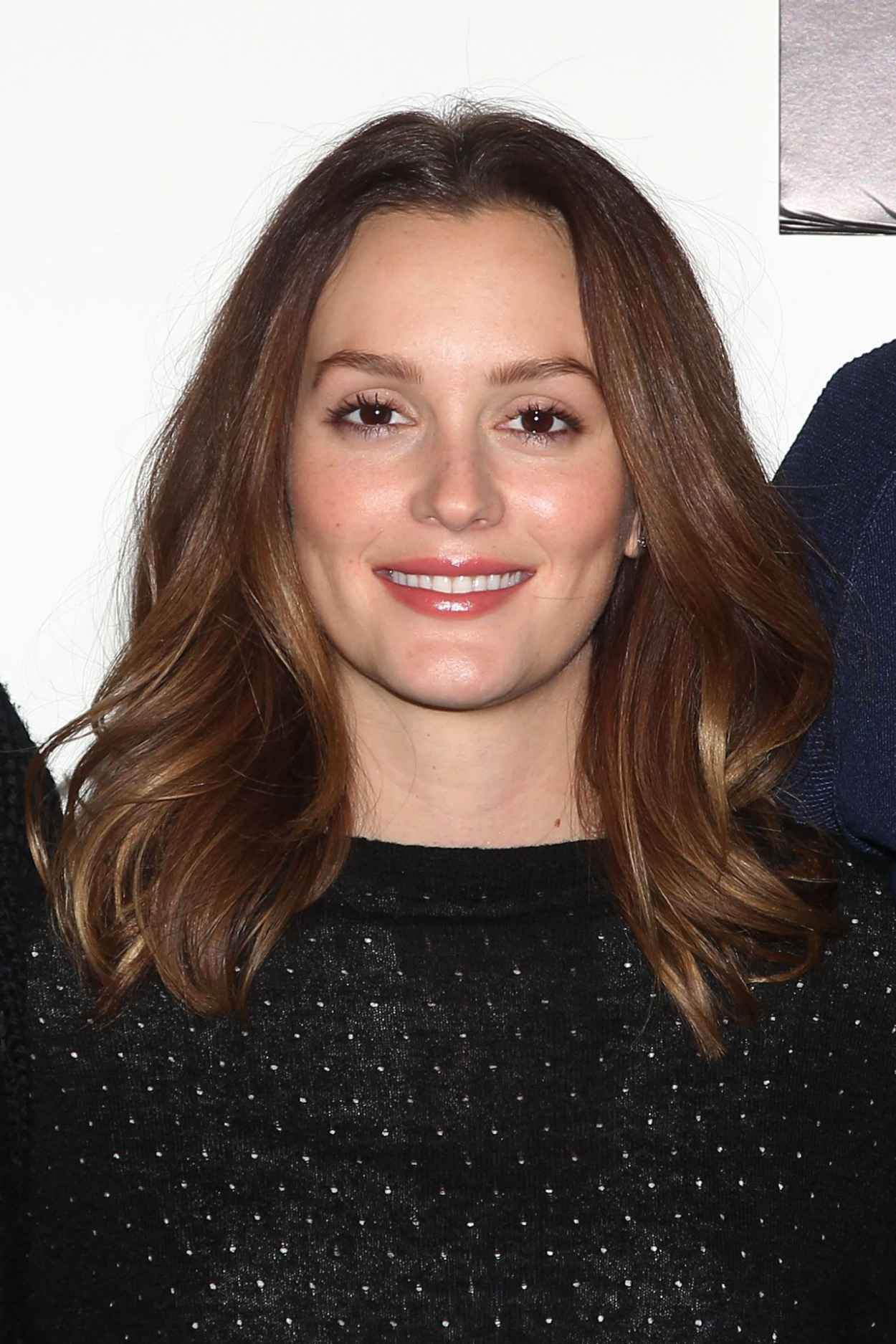 Leighton Meester - Of Mice and Men Press Conference in New York - March 2015-1