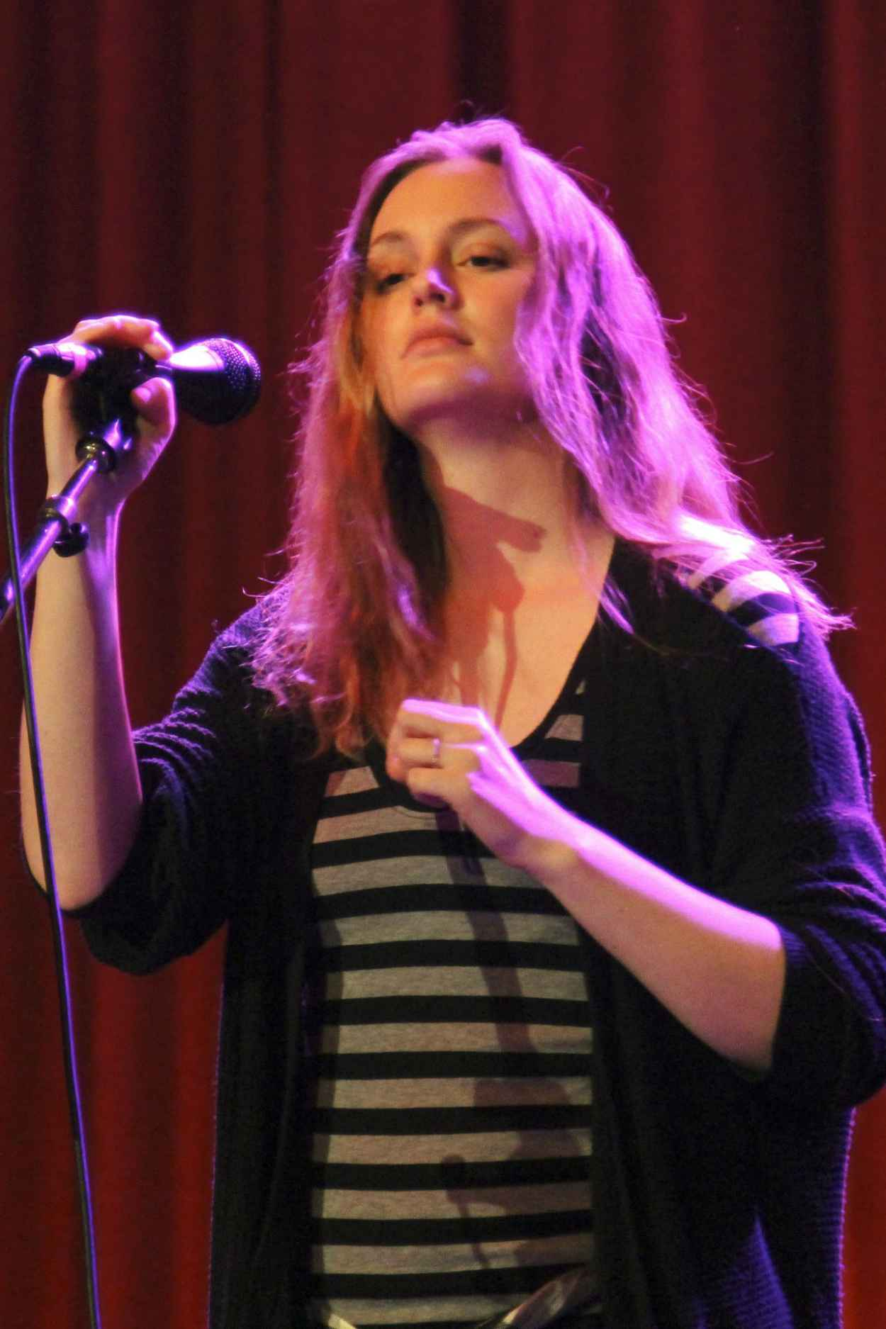 Leighton Meester Performing in Vancouver, March 2015-1