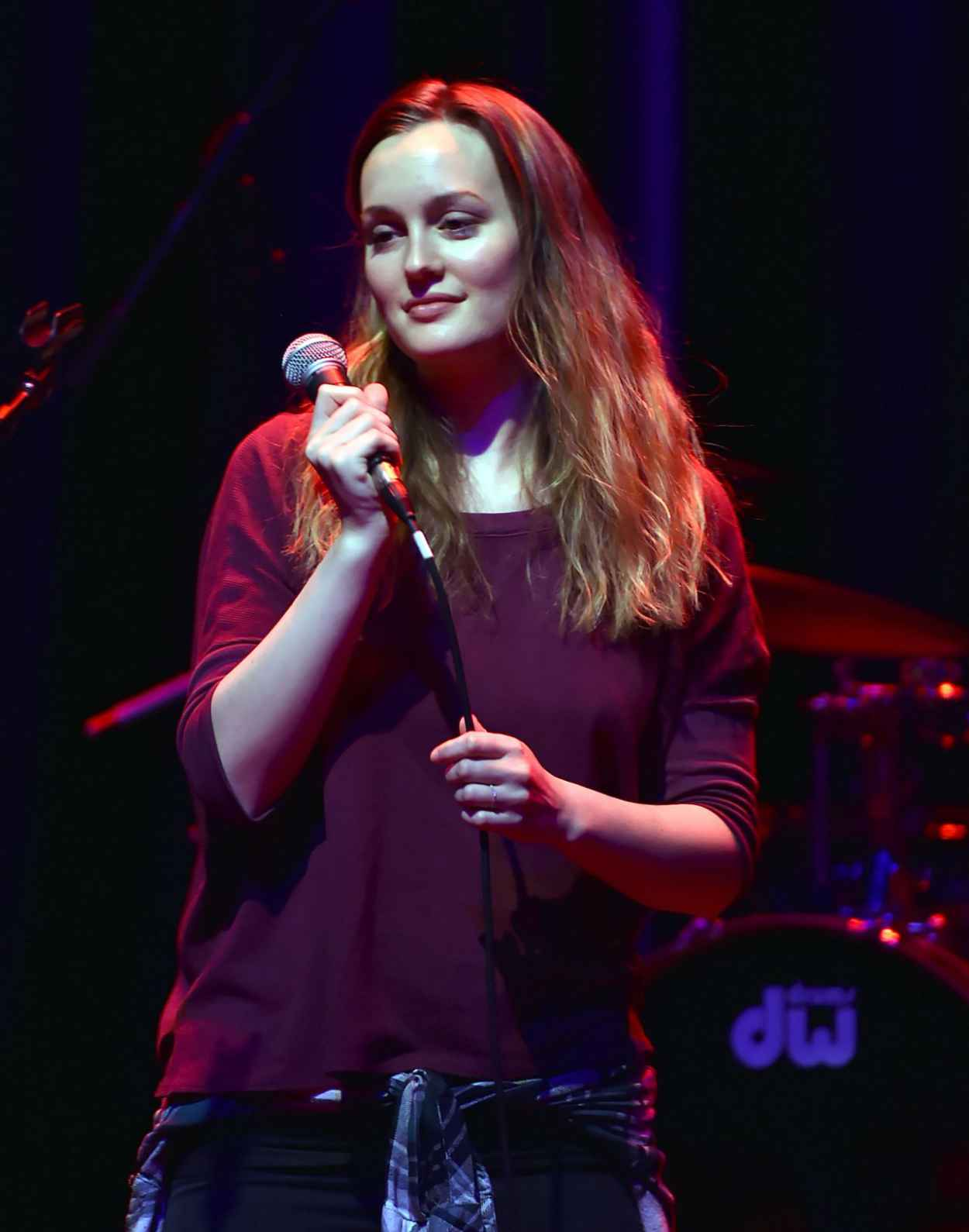 Leighton Meester Performs at Hitsville USA in Detroit - February 2015-1