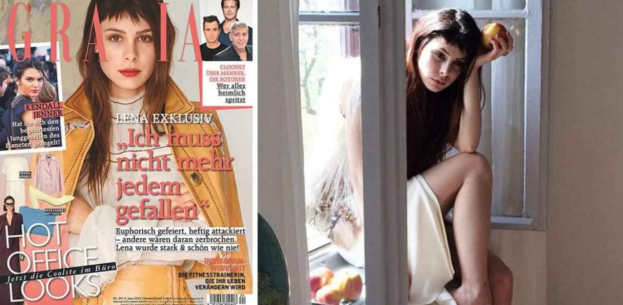 Lena Meyer-Landrut - Grazia Magazine - June 2015-2