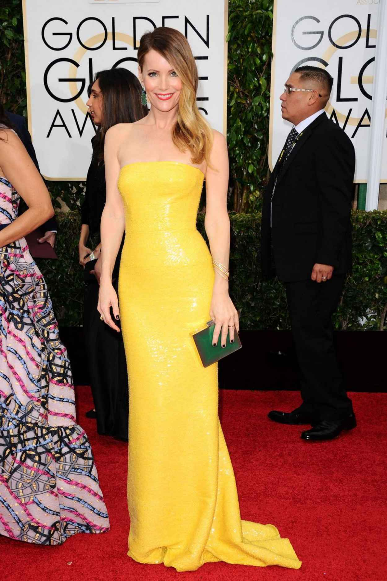 Leslie Mann - 2015 Golden Globe Awards in Beverly Hills-1
