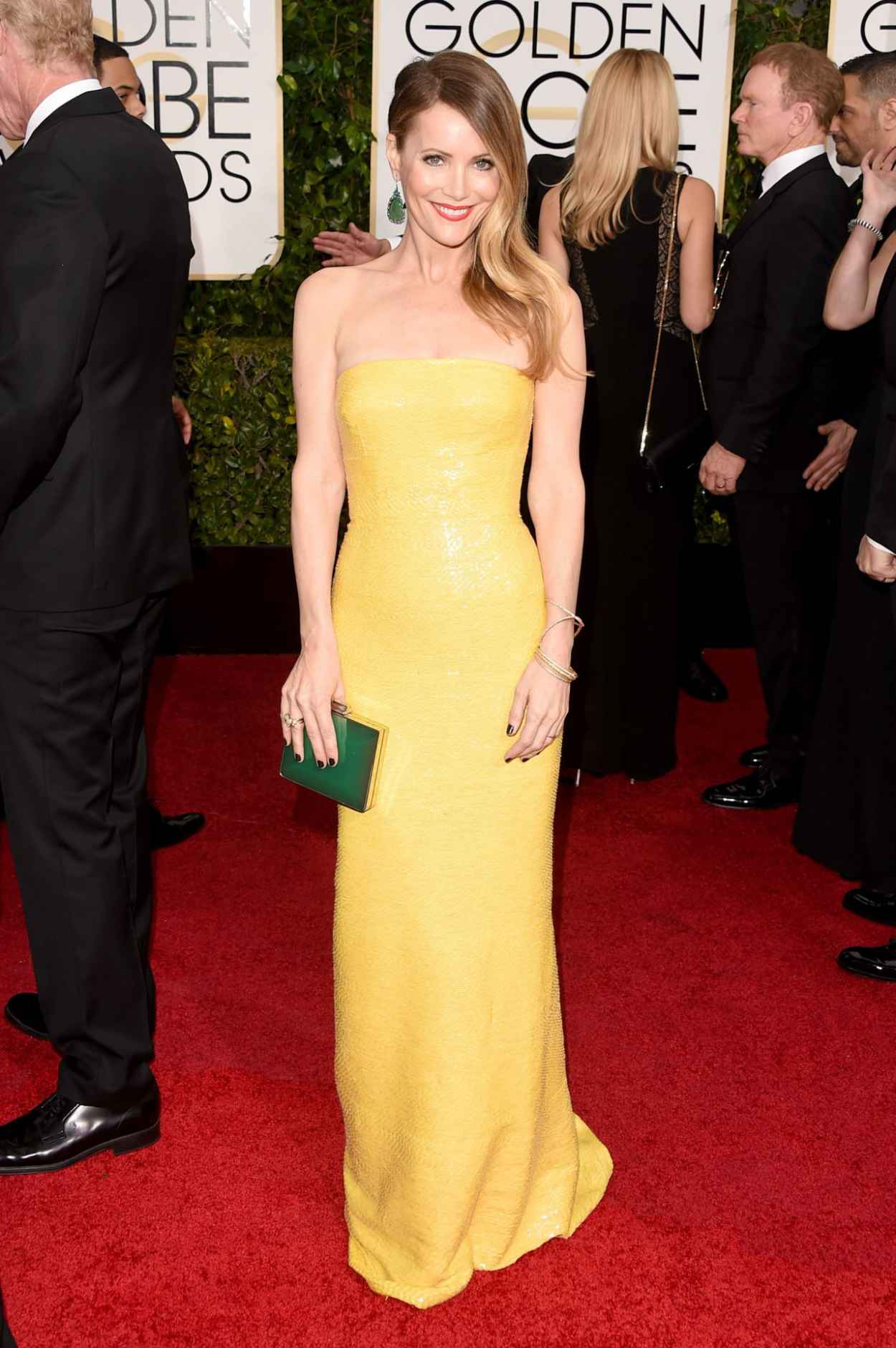 Leslie Mann - 2015 Golden Globe Awards in Beverly Hills-2