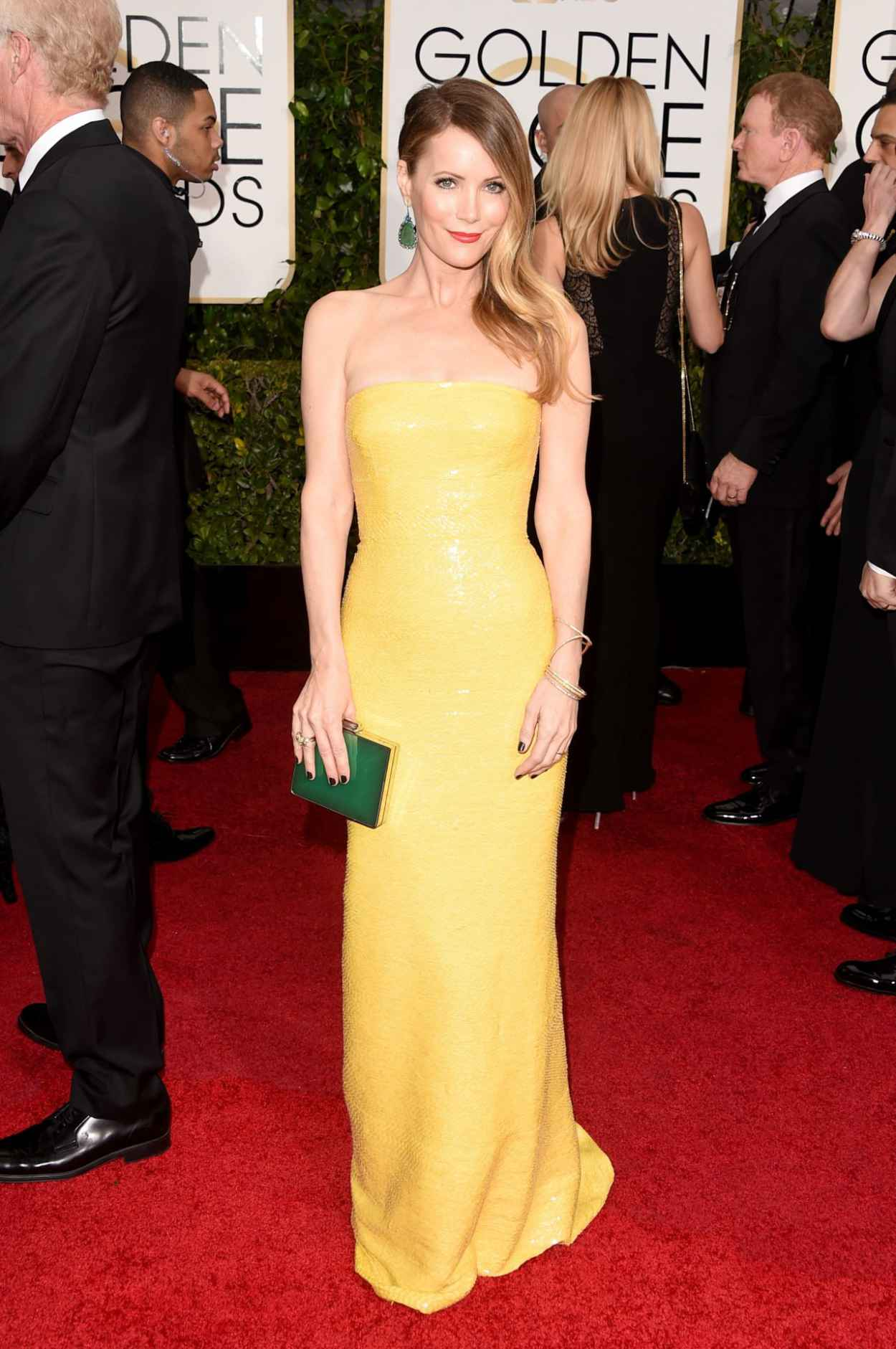 Leslie Mann - 2015 Golden Globe Awards in Beverly Hills-3