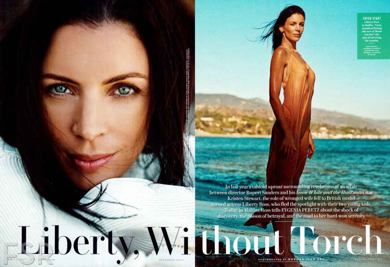 Liberty Ross in VANITY FAIR Magazine - December 2015 Issue-1