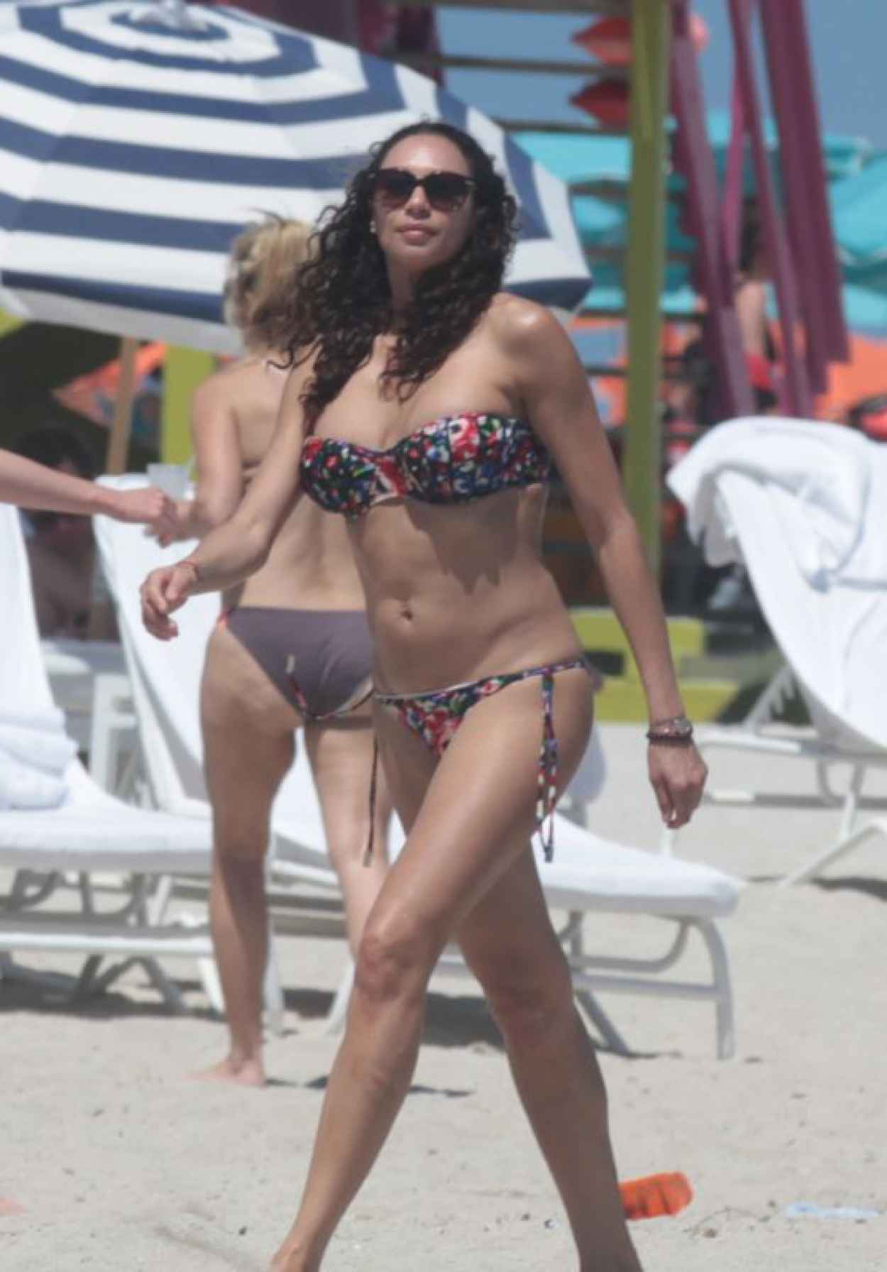 Lilly Becker in a Bikini on the Beach in Miami, April 2015-1