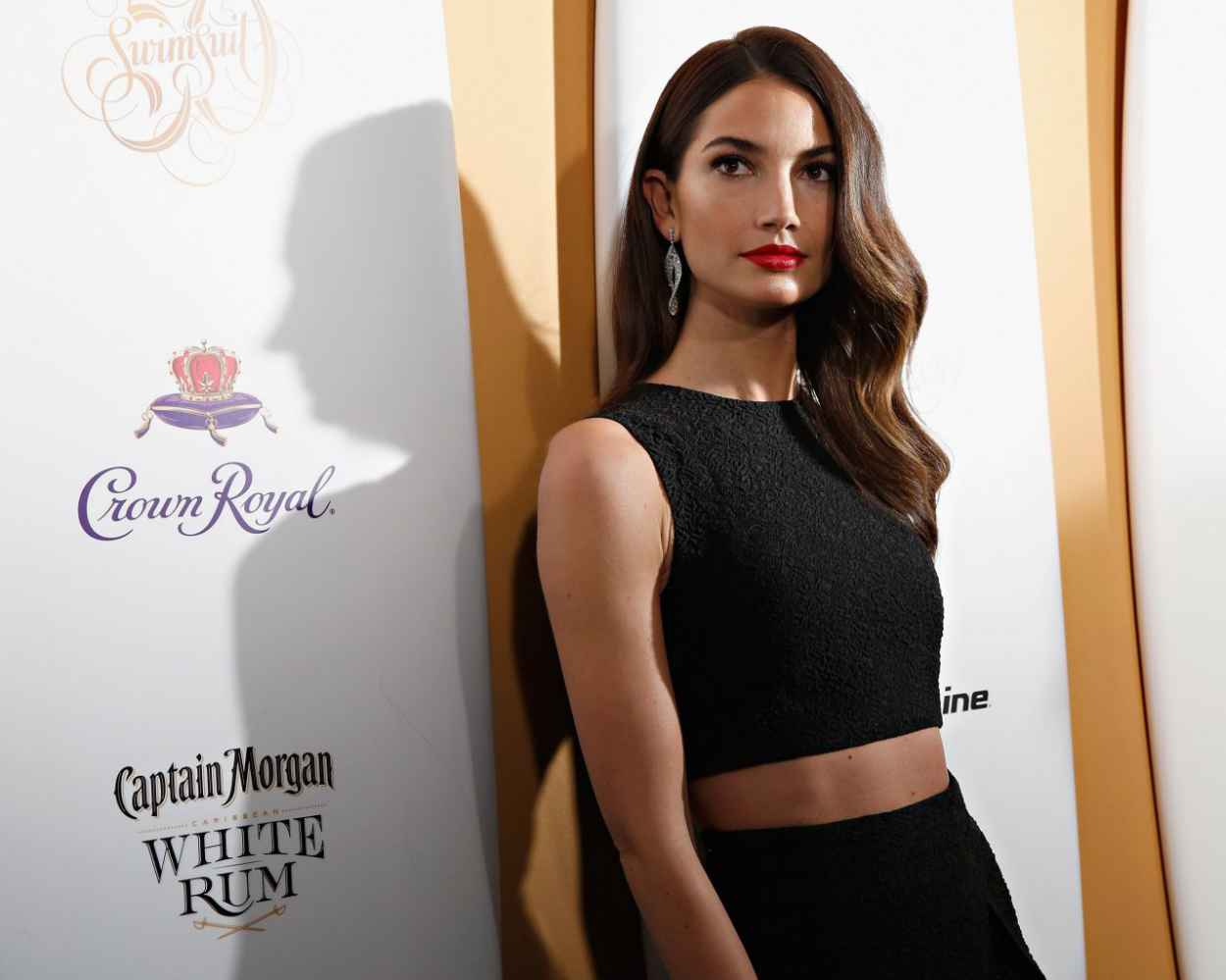 Lily Aldridge - Sports Illustrated Swimsuit Celebrates 50 Years Of Swim In New York City-1
