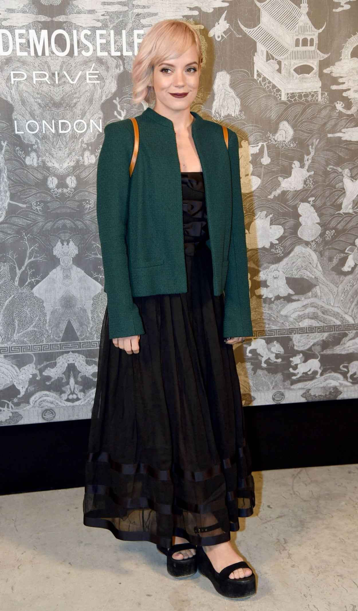 Lily Allen - Chanel Exhibition Party in London, October 2015-2