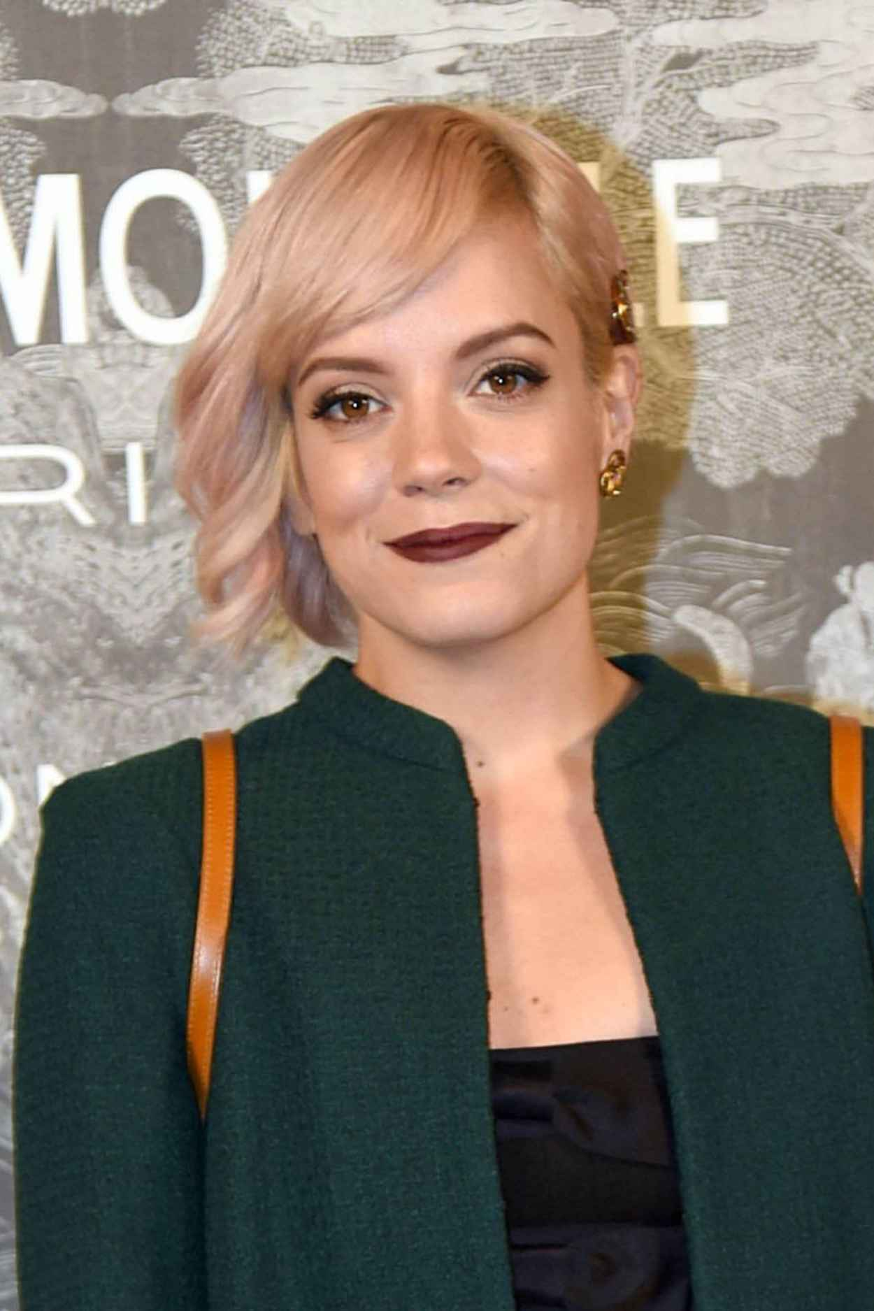Lily Allen - Chanel Exhibition Party in London, October 2015-4