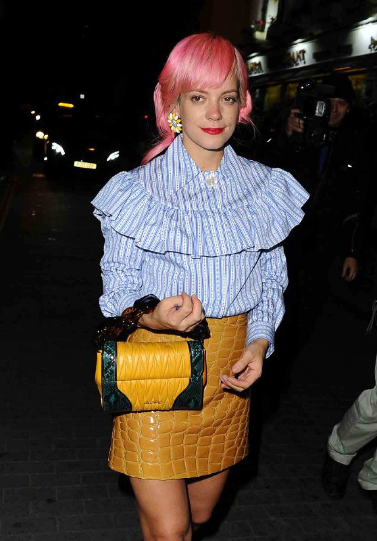 Lily Allen - Love Magazine Party at Lou Lous in London, September 2015-1