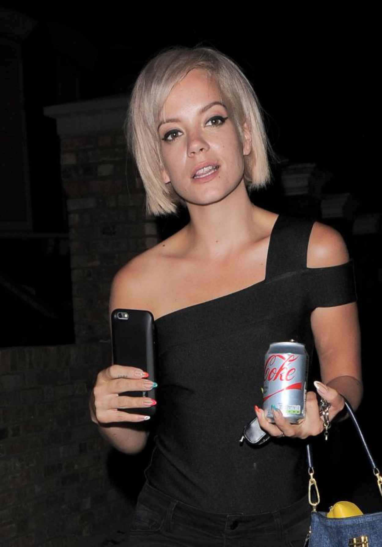 Lily Allen Night Out Style - Out in London, August 2015-1