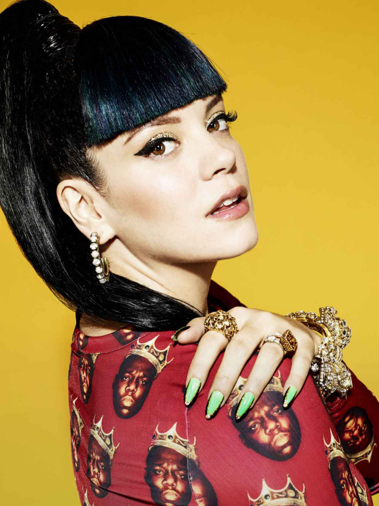 Lily Allen NME 2015 Photoshoot-1