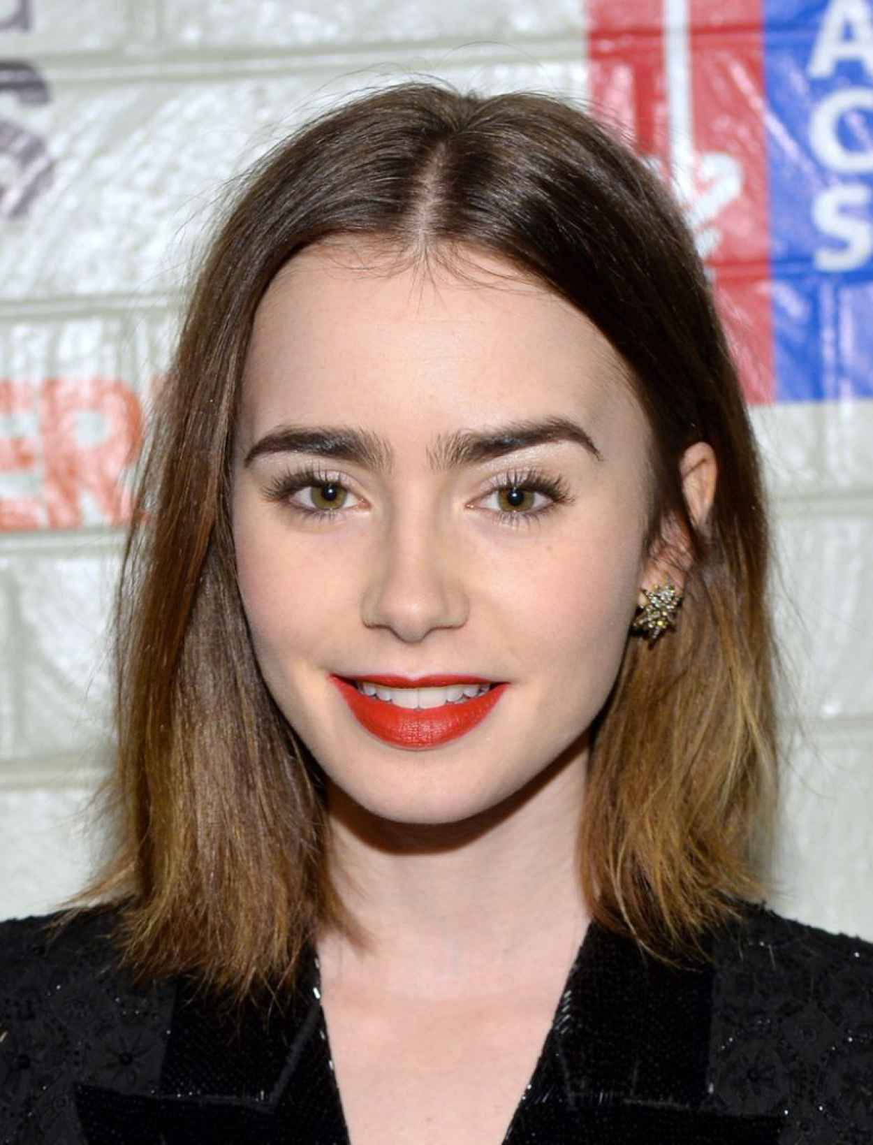 Lily Collins - Hollywood Stands Up To Cancer Event (2014)-1