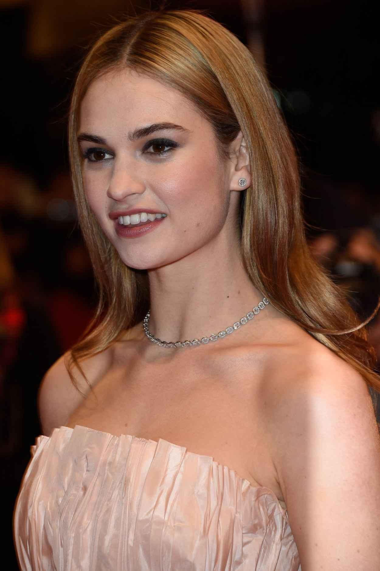 Lily James - Cinderella Premiere at 2015 Berlin Film Festival-1
