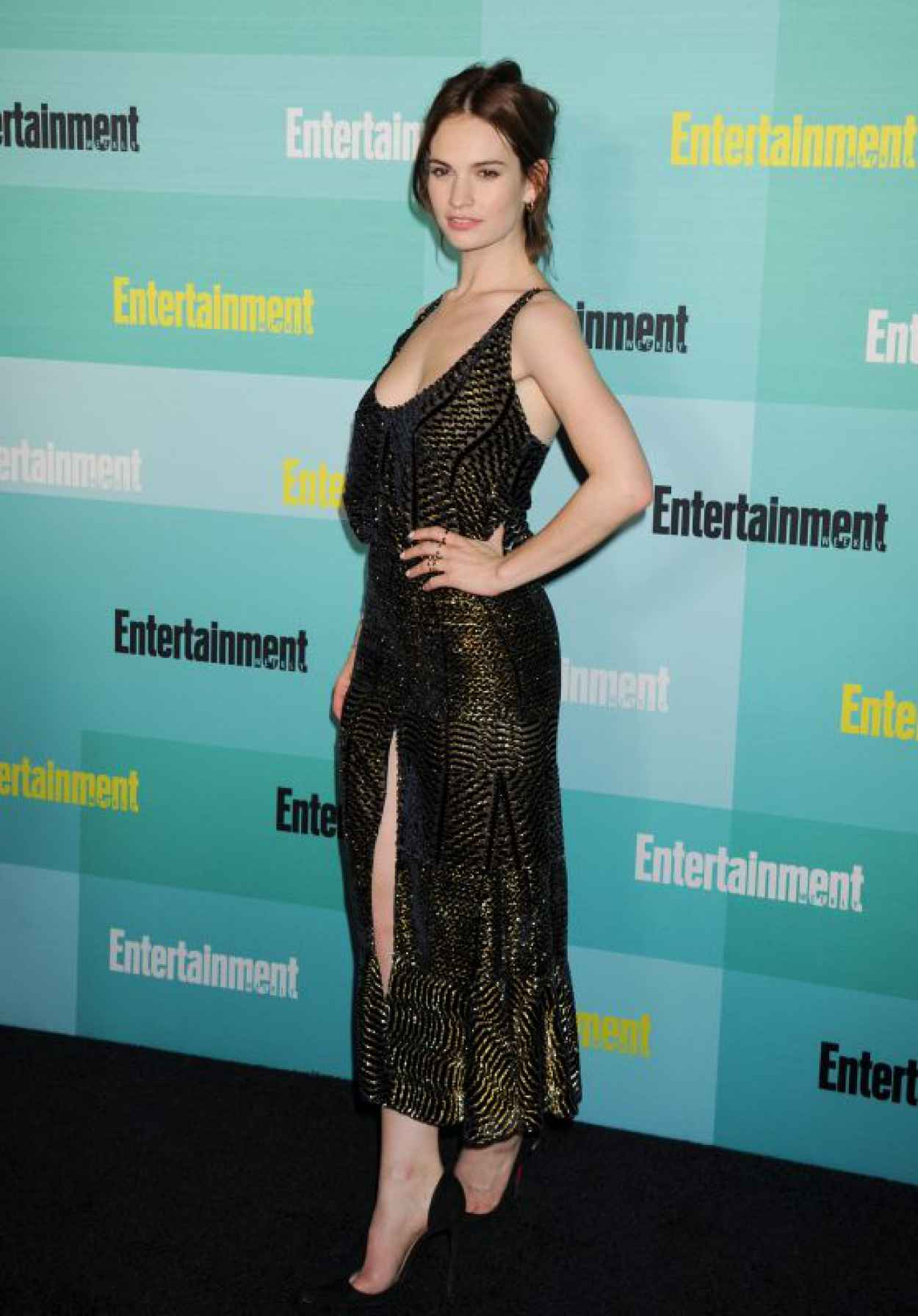 Lily James - Entertainment Weekly Party at Comic Con in San Diego, July 2015-1