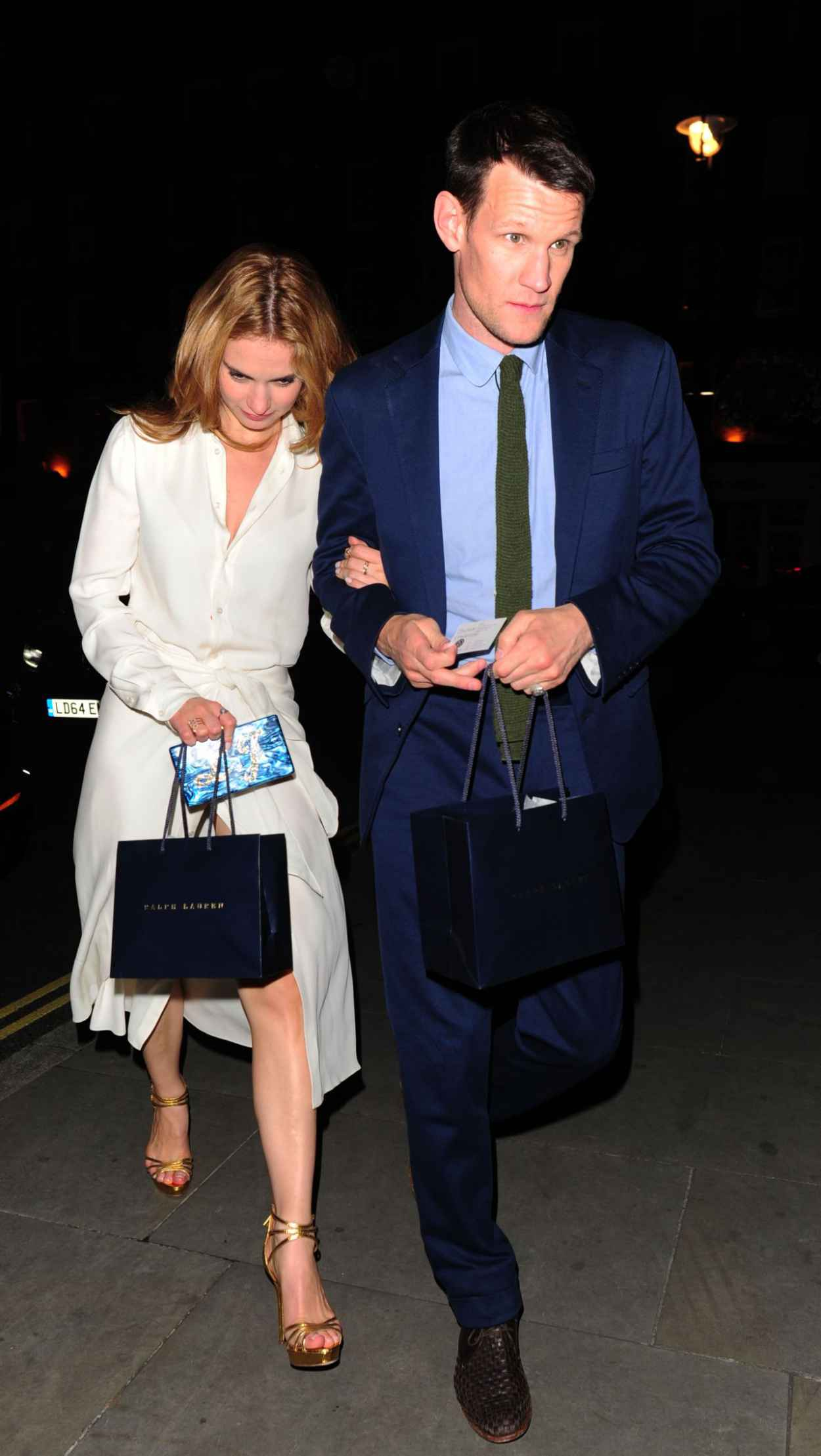 Lily James Night Out Style - Arrives at the Firehouse in London, June 2015-3
