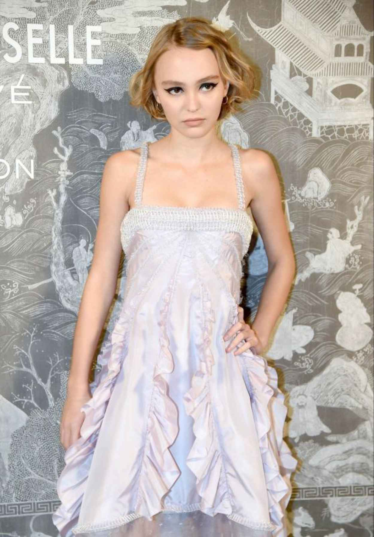 Lily-Rose Depp - Chanel Exhibition Party in London, October 2015-1