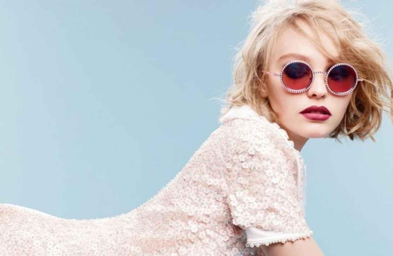 Lily-Rose Depp - Chanel Eyewear Fall/Winter 2015 - Karl Lagerfeld Photoshoot-1