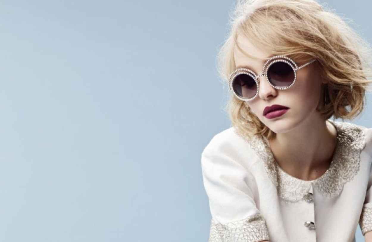 Lily-Rose Depp - Chanel Eyewear Fall/Winter 2015 - Karl Lagerfeld Photoshoot-2