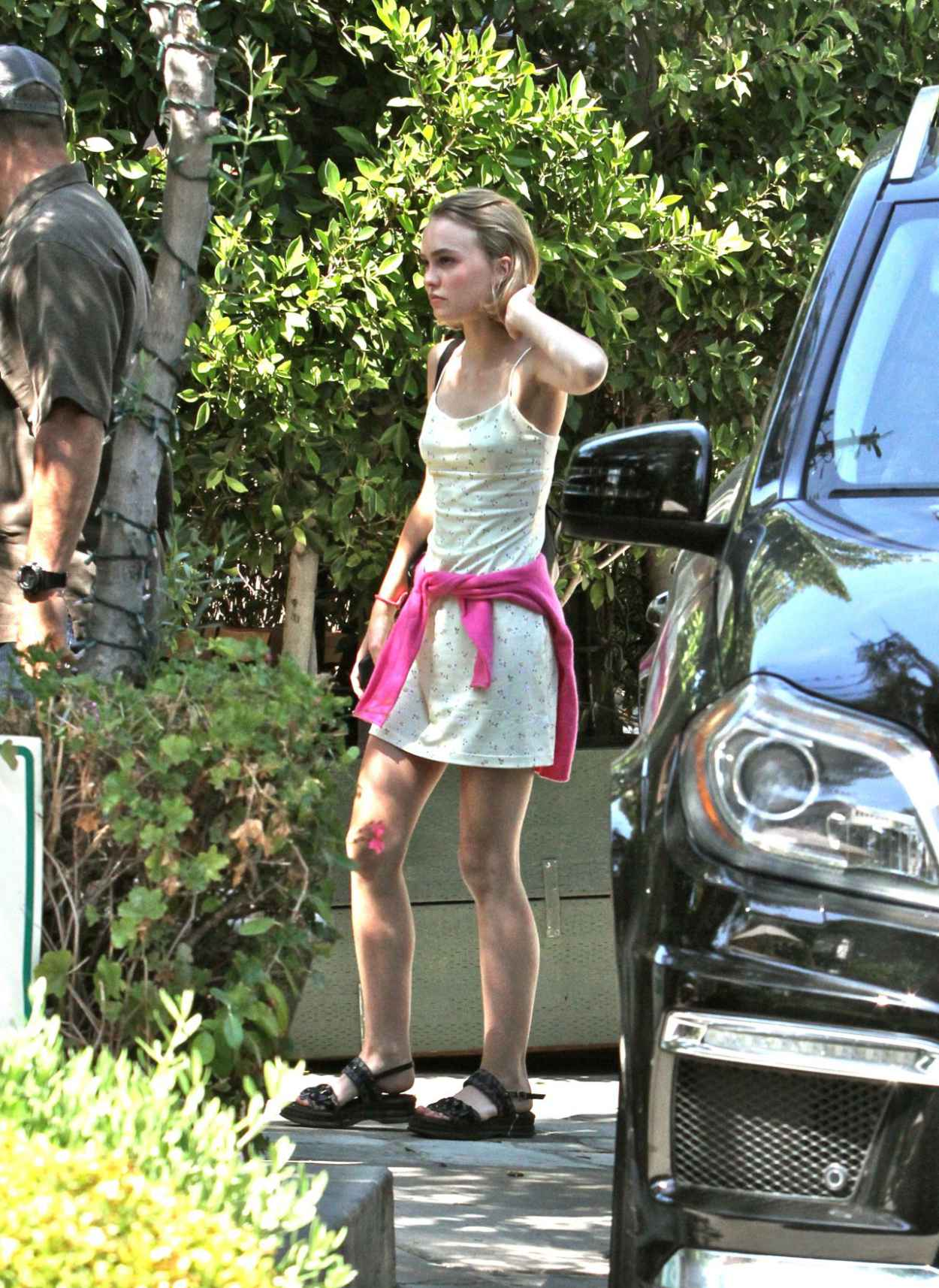 Lily-Rose Depp - Out in Beverly Hills, September 2015-3