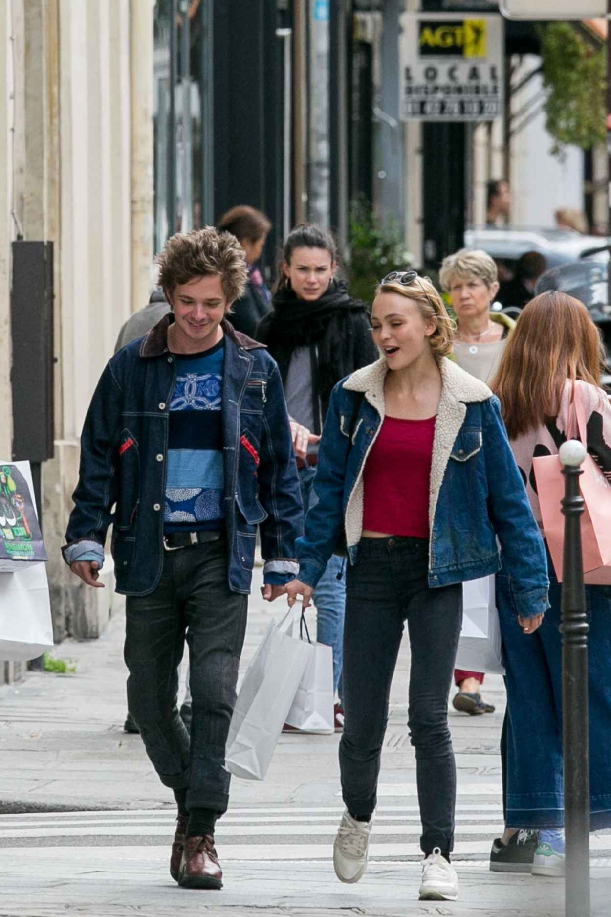 Lily-Rose Depp - Out in Paris, September 2015-2