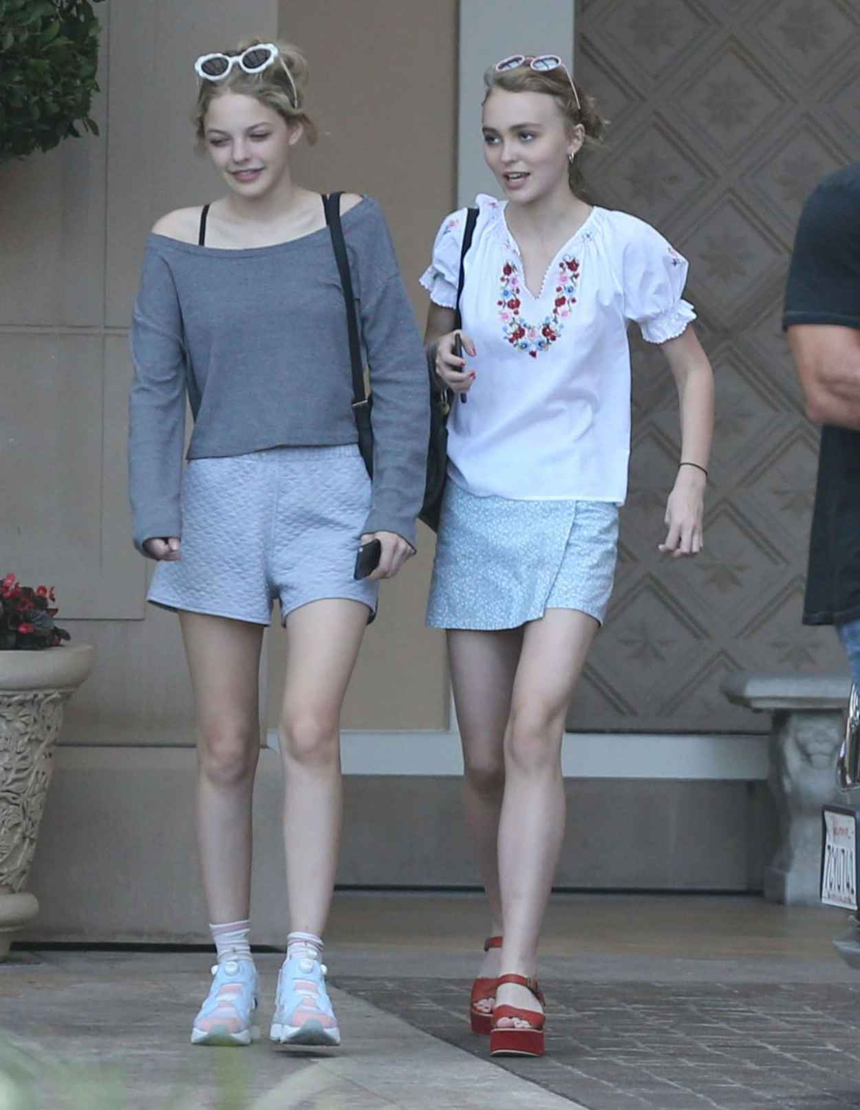 Lily-Rose Depp Summer Style - Out and About in Beverly Hills, July 2015-2