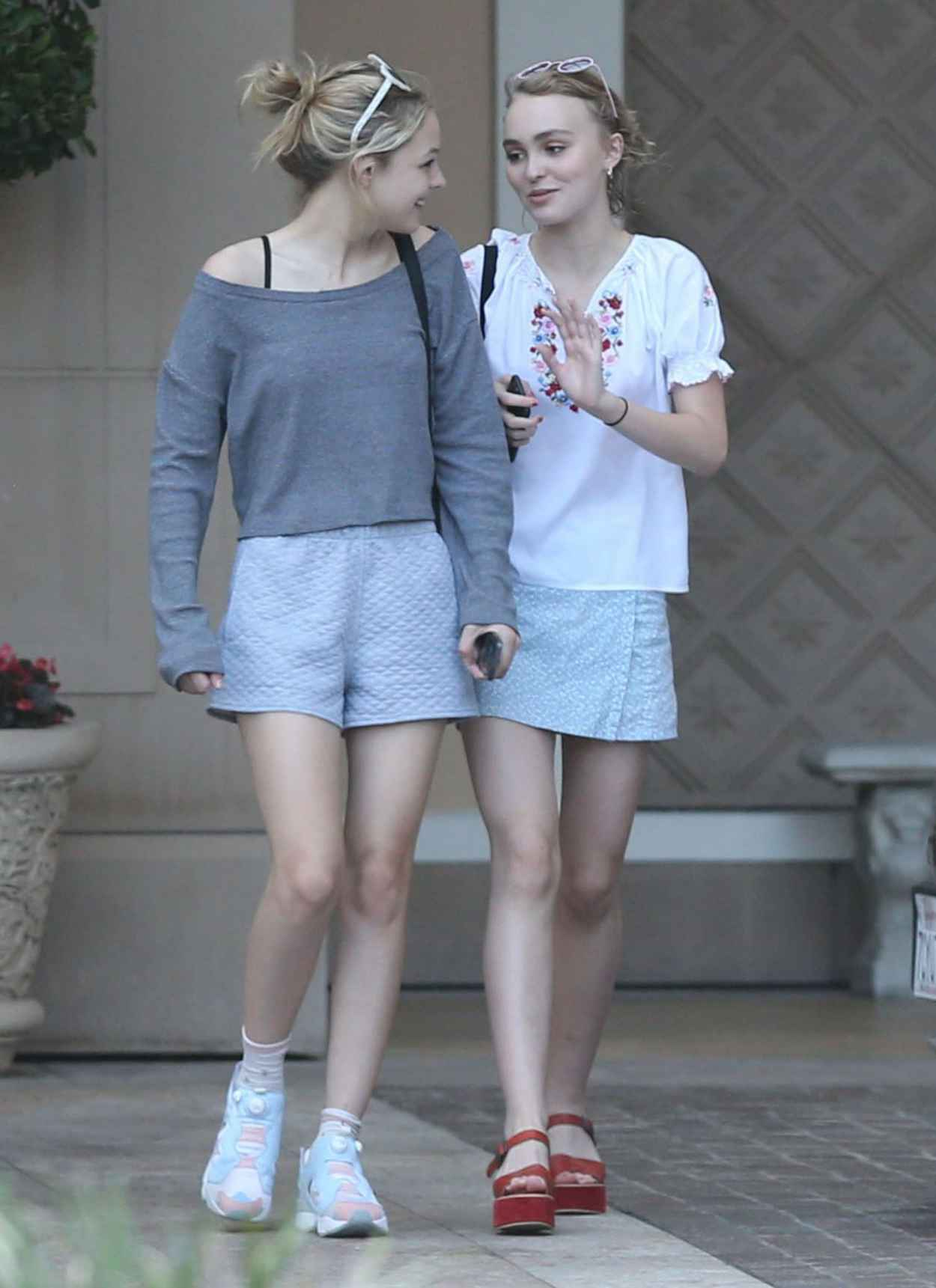 Lily-Rose Depp Summer Style - Out and About in Beverly Hills, July 2015-3