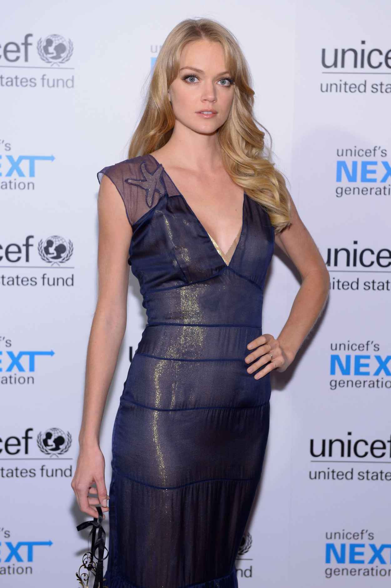 Lindsay Ellingson at the 1st Annual UNICEF Masquerade Ball in Hollywood-4