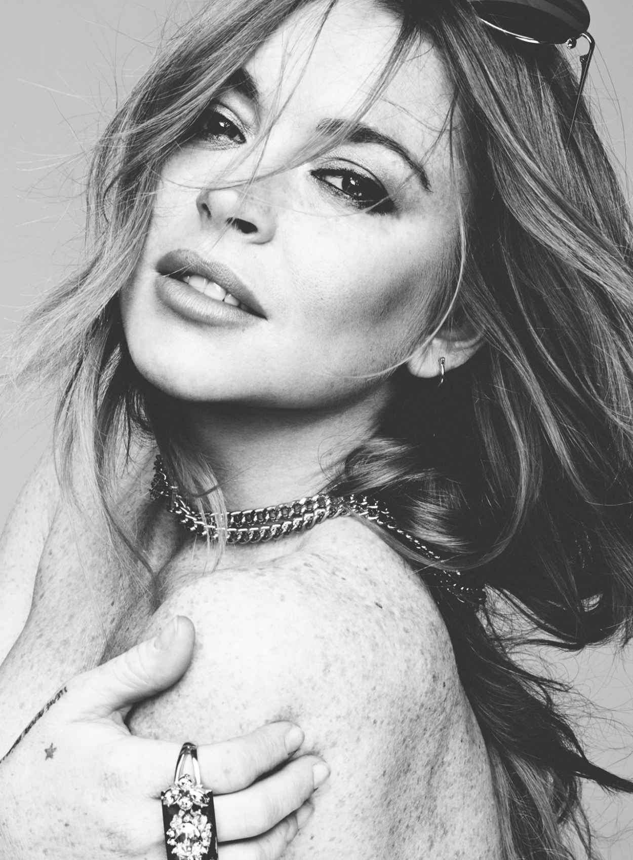 Lindsay Lohan - Hunger Magazine Issue 8 (2015)-1