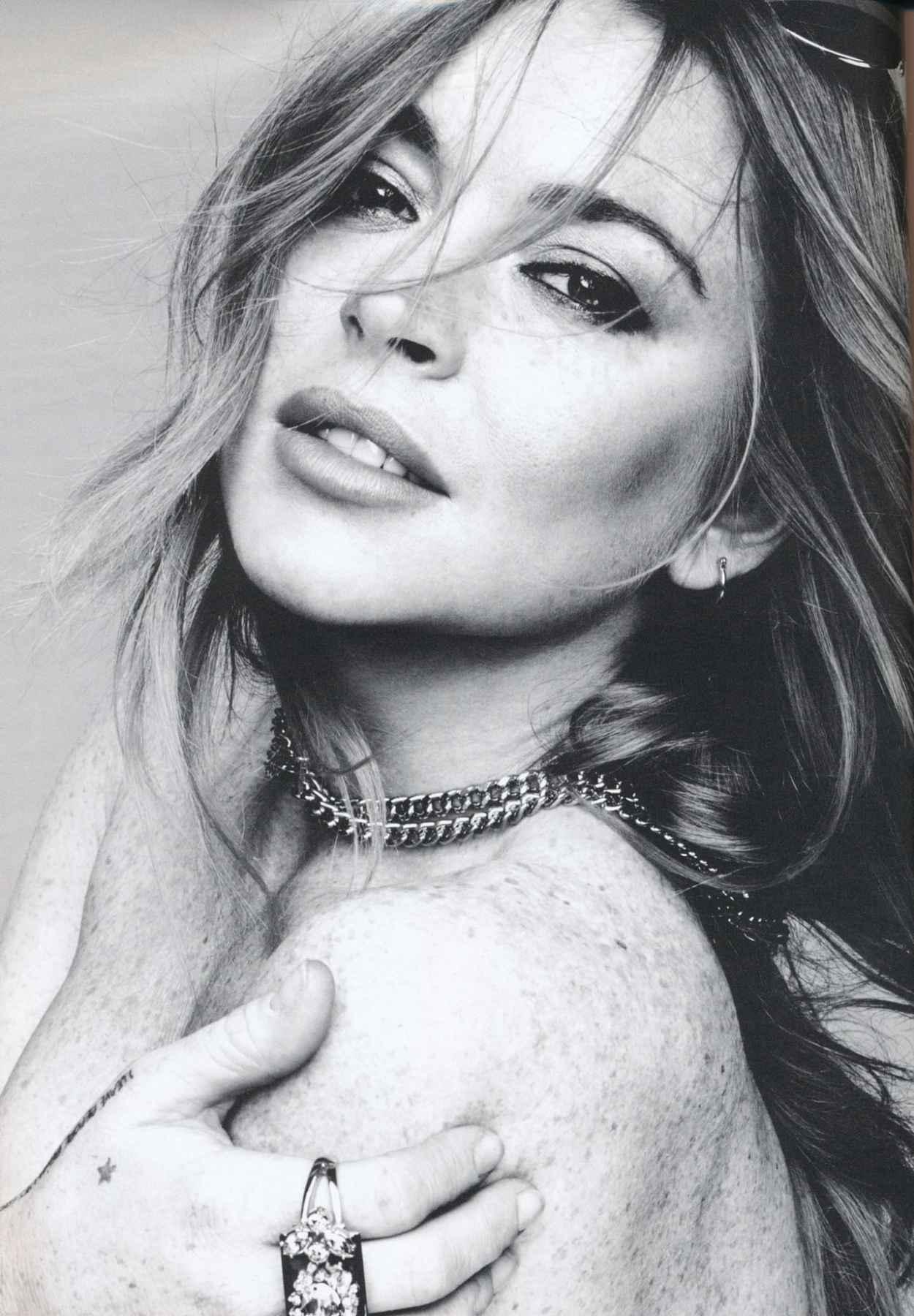 Lindsay Lohan - Hunger Magazine Issue 8 (2015)-2