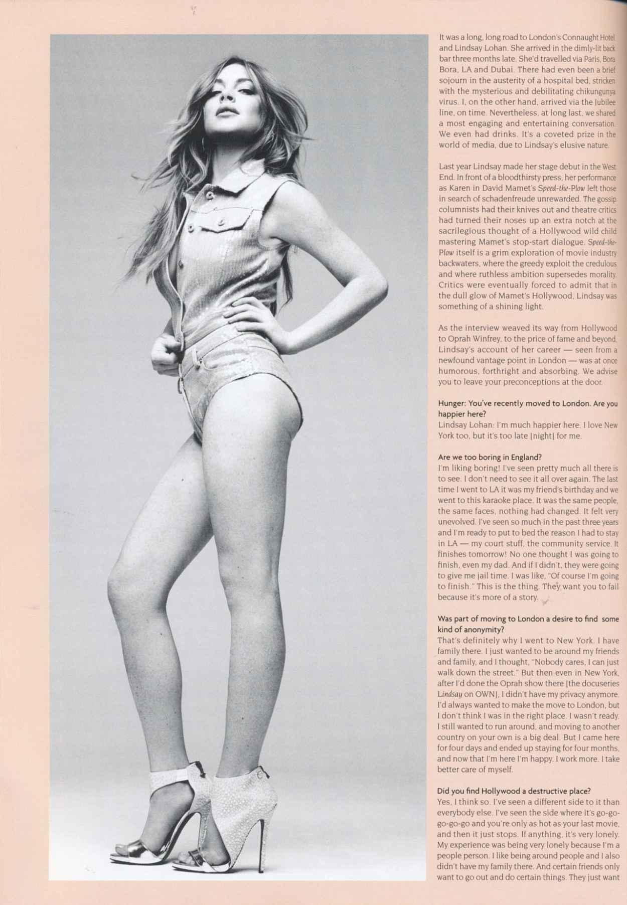 Lindsay Lohan - Hunger Magazine Issue 8 (2015)-4