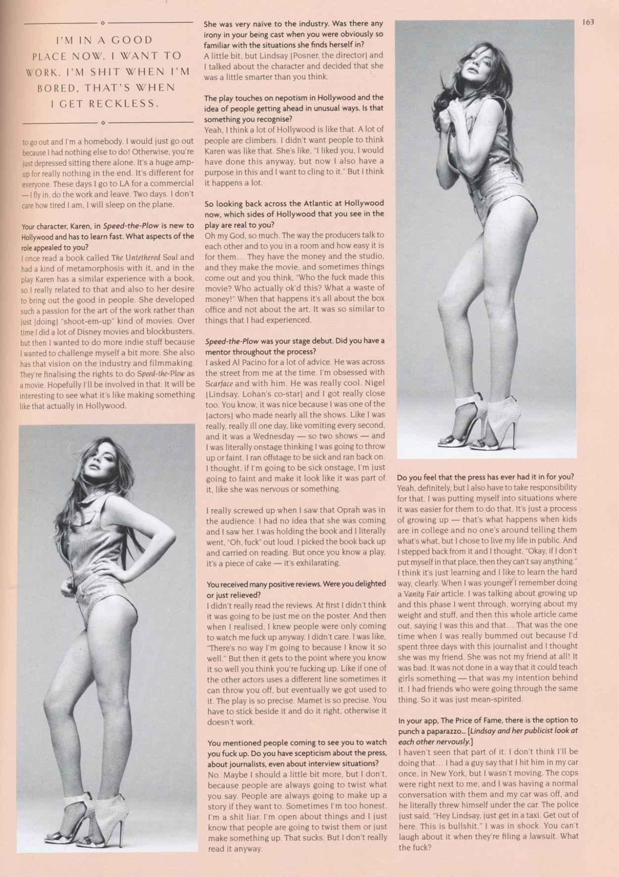 Lindsay Lohan - Hunger Magazine Issue 8 (2015)-5