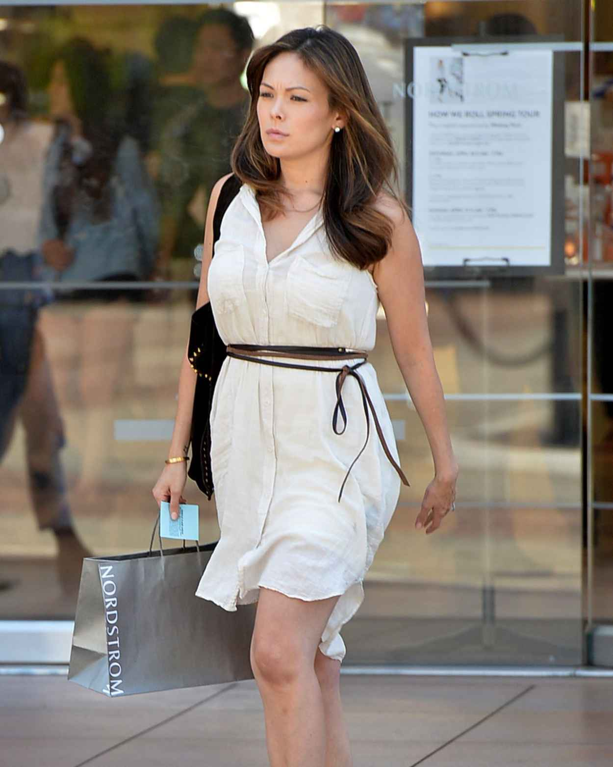 Lindsay Price Style - Shopping in Los Angeles, April 2015-3