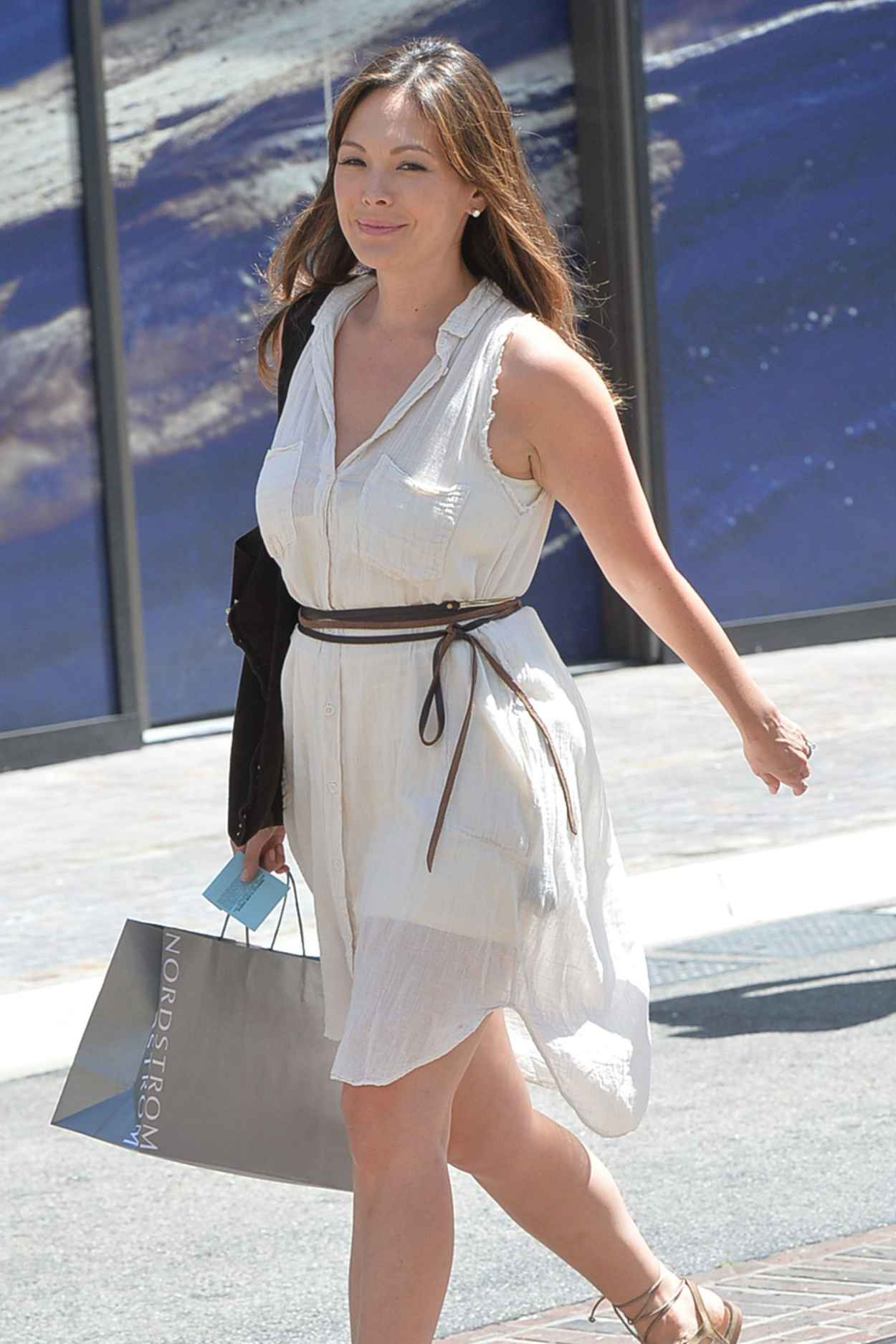 Lindsay Price Style - Shopping in Los Angeles, April 2015-5