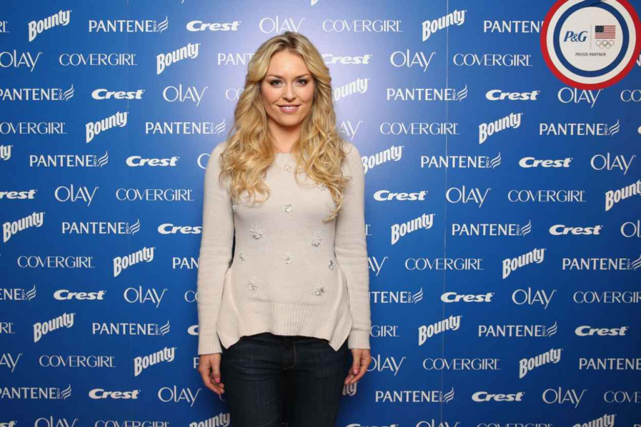 Lindsey Vonn - P&G Kicks Off the Sochi 2015 Olympic Campaign-1
