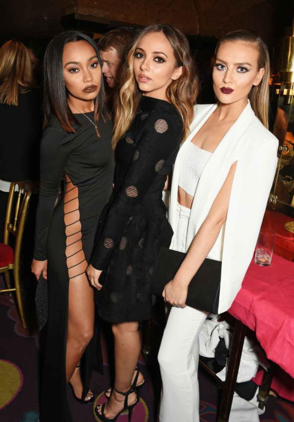 Little Mix - Annabels for Dinner Salena Gomez in London, September 2015-1