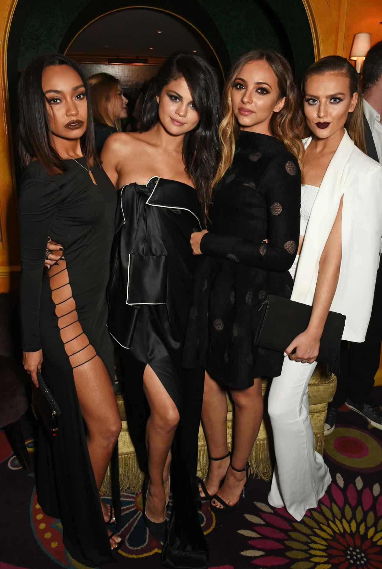 Little Mix - Annabels for Dinner Salena Gomez in London, September 2015-3