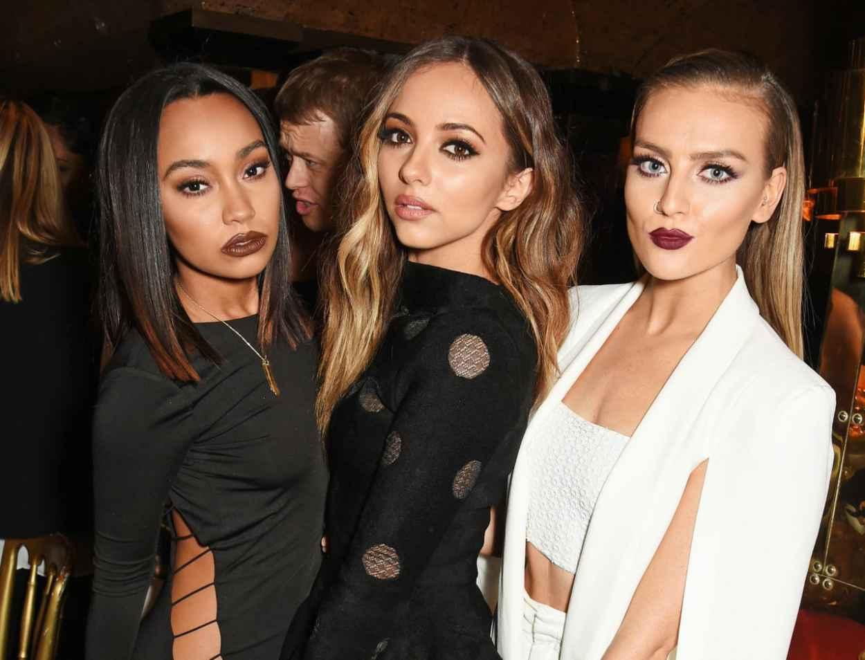 Little Mix - Annabels for Dinner Salena Gomez in London, September 2015-4