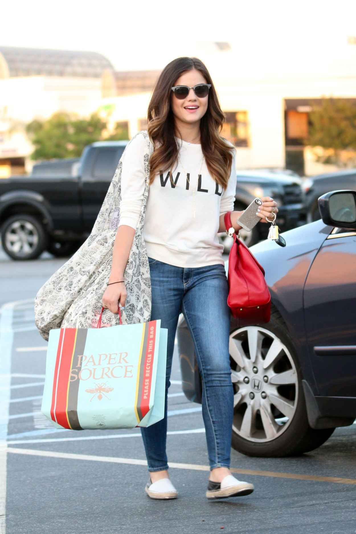 Lucy Hale in Jeans - Out in Studio City - June 2015-1