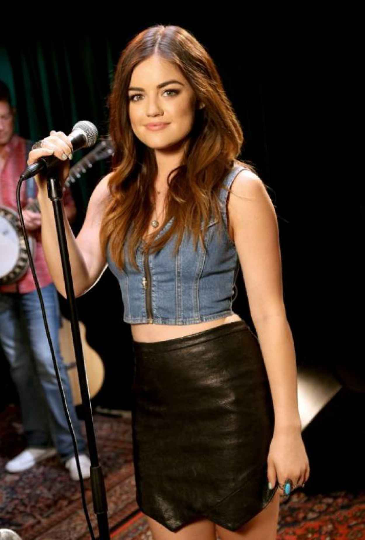 Lucy Hale - Photoshoot for RAM Country Yahoo! Music-1
