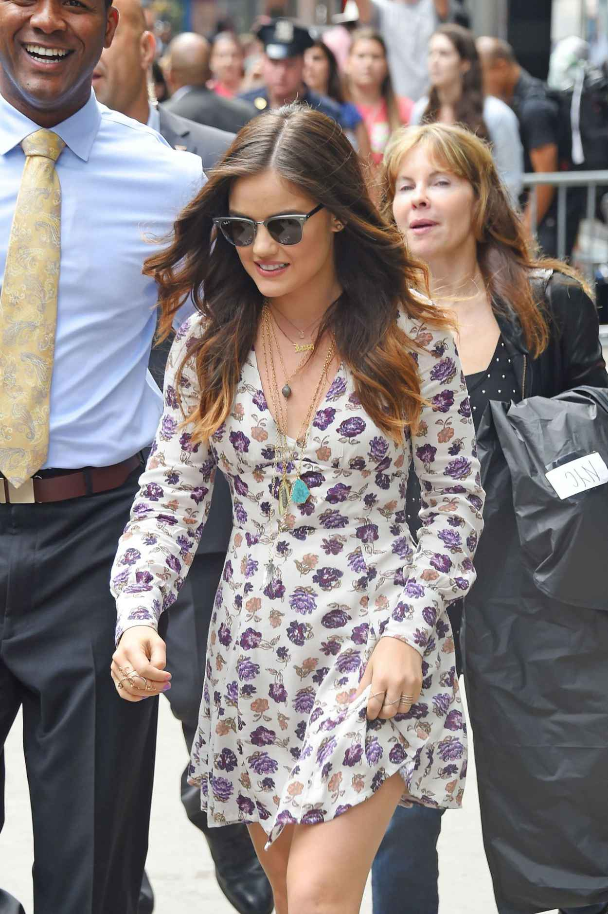 Lucy Hale Street Style - Out in NYC - June 2015-1