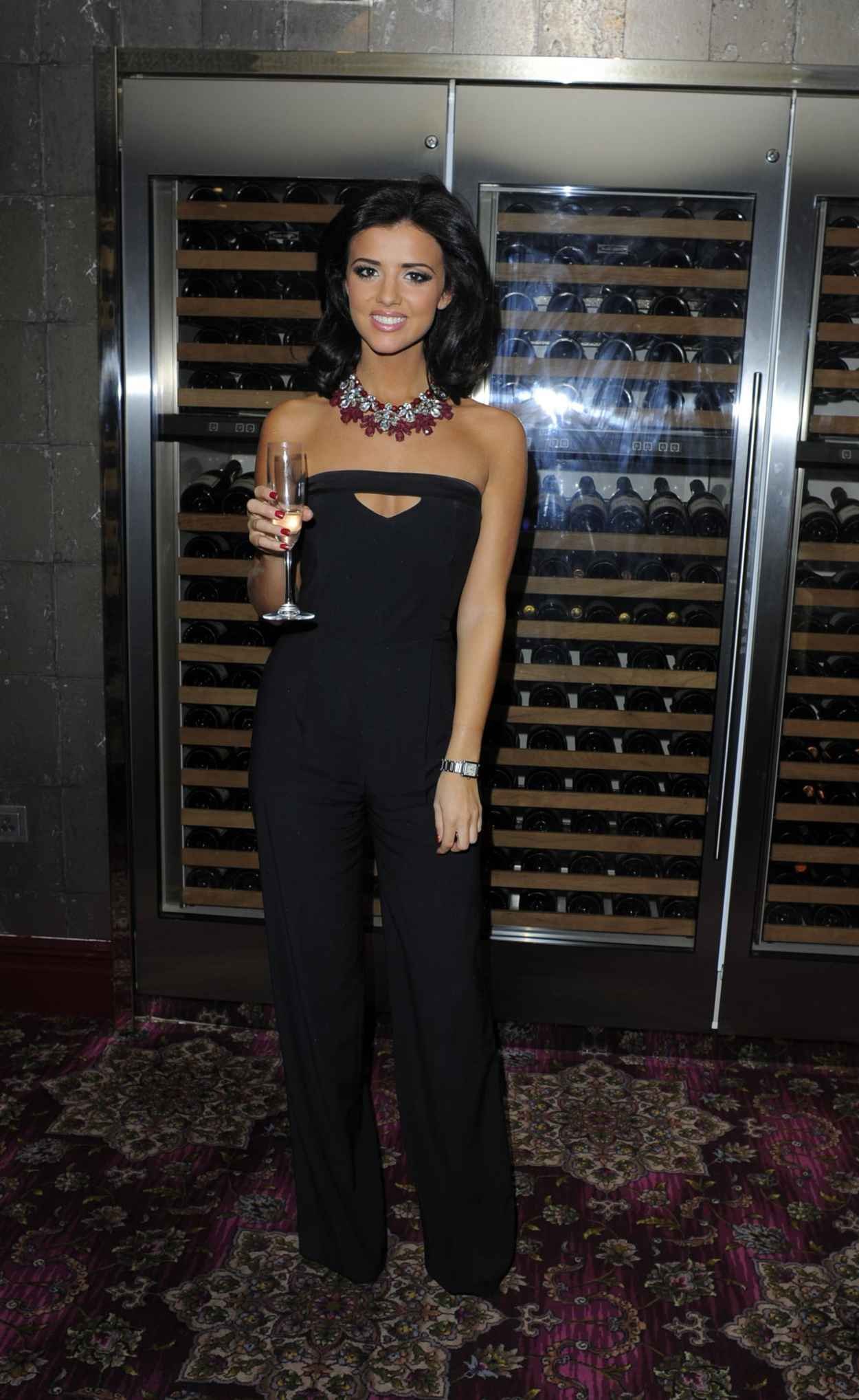 Lucy Mecklenburgh at Official Xmas Party - Sub Zero Club - December 2015-1