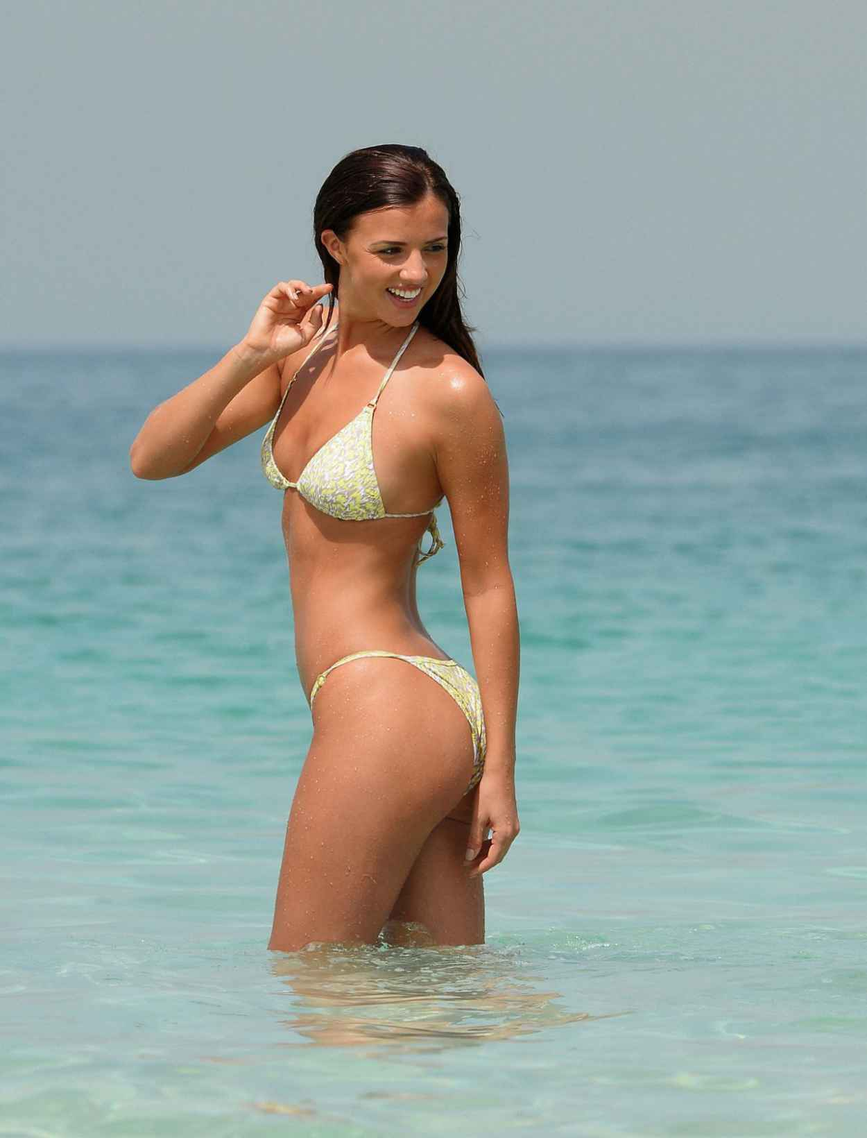 Lucy Mecklenburgh Bikini Hot Pics - Dubai, April 2015-3