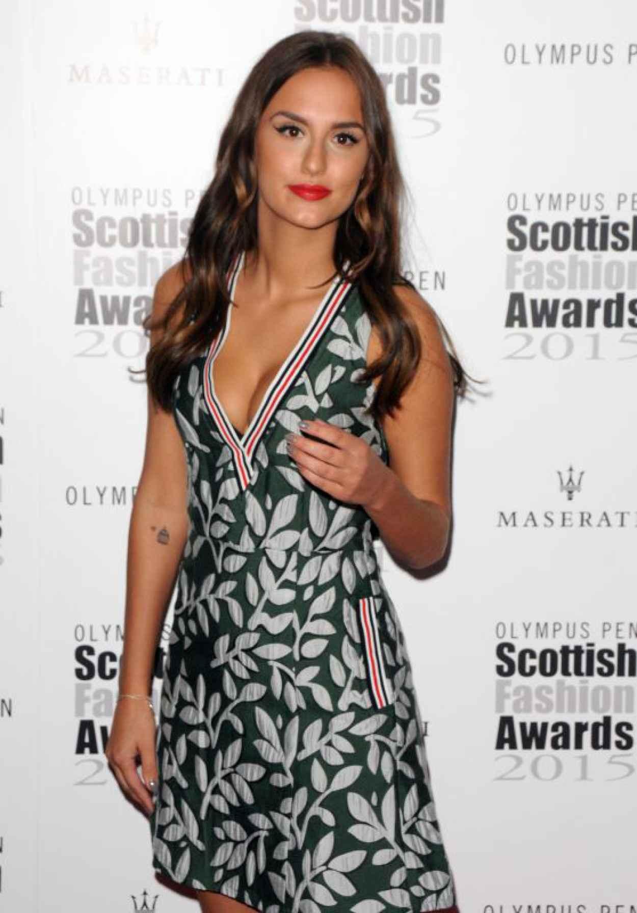 Lucy Watson - 2015 Scottish Fashion Awards in London-1