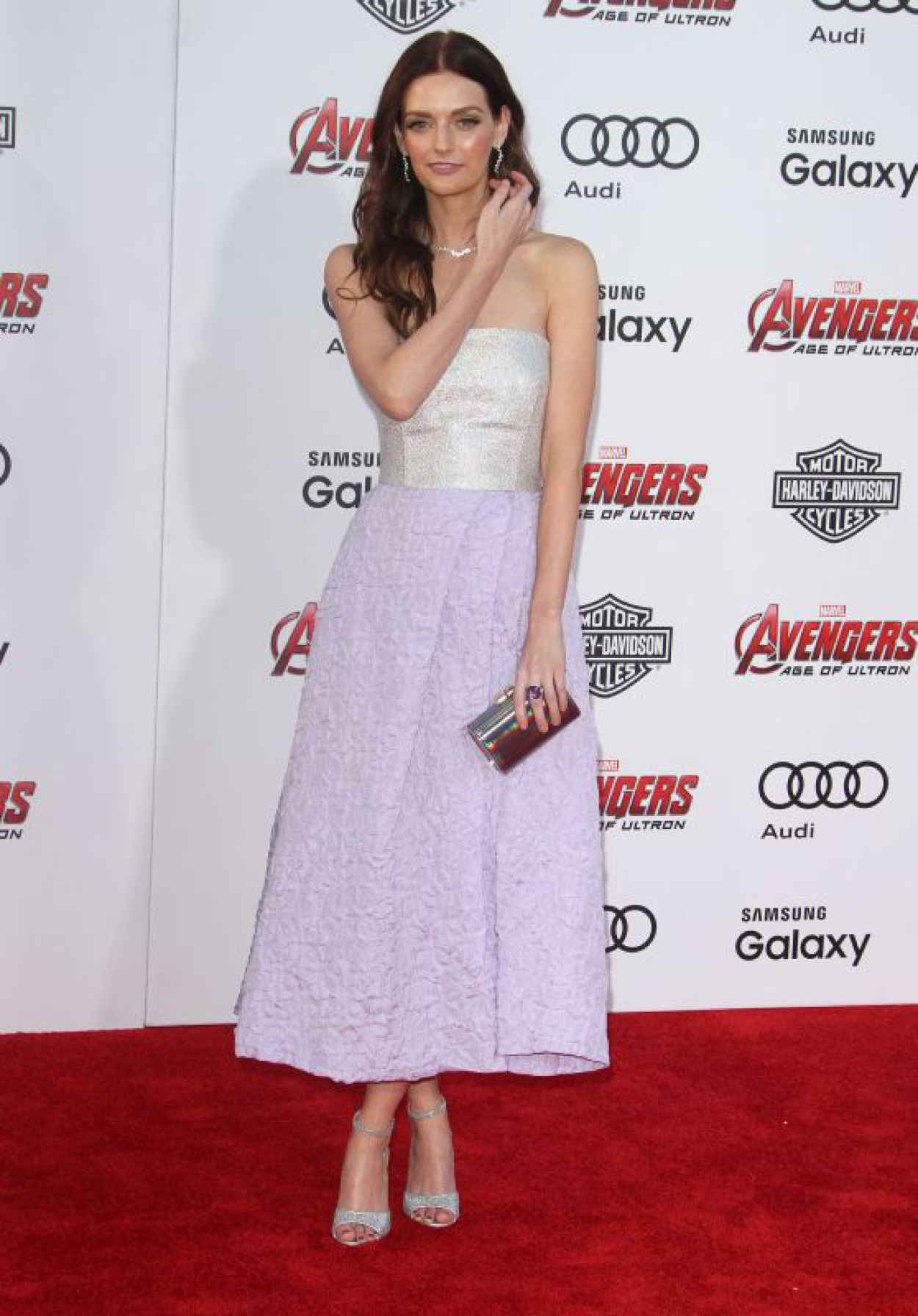 Lydia Hearst - Avengers: Age Of Ultron Premiere in Hollywood-1