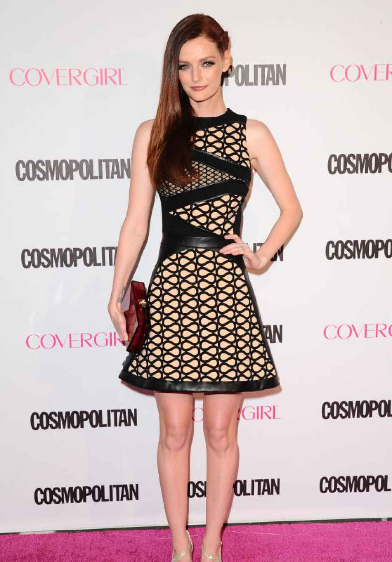 Lydia Hearst - Cosmopolitans 50th Birthday Celebration in West Hollywood-1