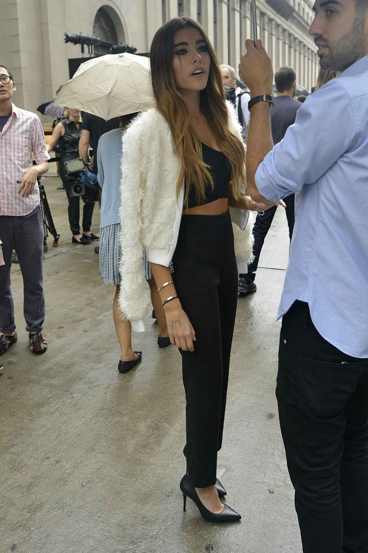 Madison Beer - Out and About in NYC, September 2015-5